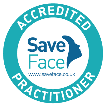 Save face accredited practitioner UK logo